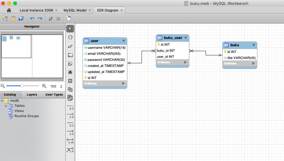 Mendesain Database Melalui MySQL Workbench